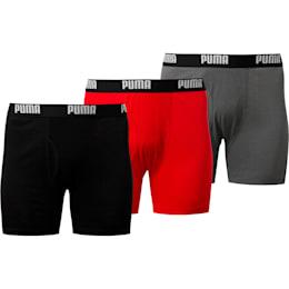 Men's Cotton Classic Boxer Briefs [3 Pack]